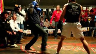 The Dook vs Northern Territory challenger -Outback Fight Club - Mt Isa 2015