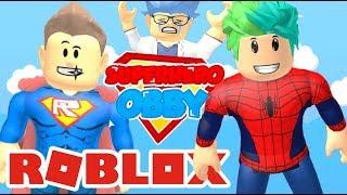 Me Convierto en Spiderman en Roblox | Super Hero Roblox | Juegos Roblox Karim Juega