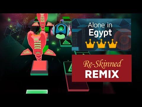 Rolling Sky - Alone in Egypt (ReSkinned Remix) | Fan-made