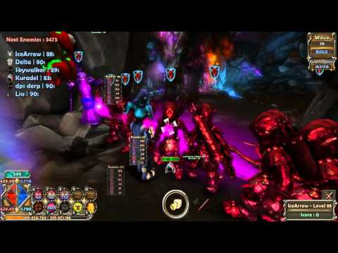 Dungeon Defenders Talay Mining Complex Survival Build NMHC