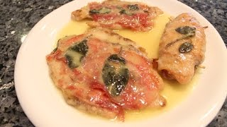 Chicken Saltimbocca Recipe - Orsararecipes