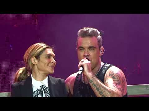 Robbie Williams - Something Stupid - Vienna 26.08.2017