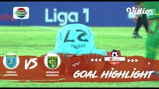 Persela Lamongan (1) vs (0) Persebaya Surabaya - Goal Highlight | Shopee Liga 1
