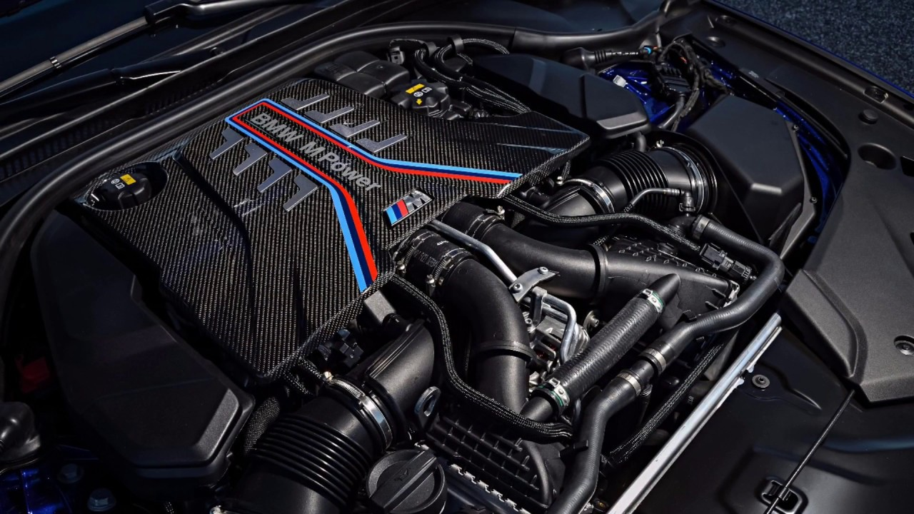 Bmw 4.4 v8 twin turbo