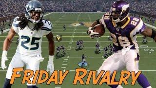 Friday Rivalry, Legion of Boom vs Adrian Peterson