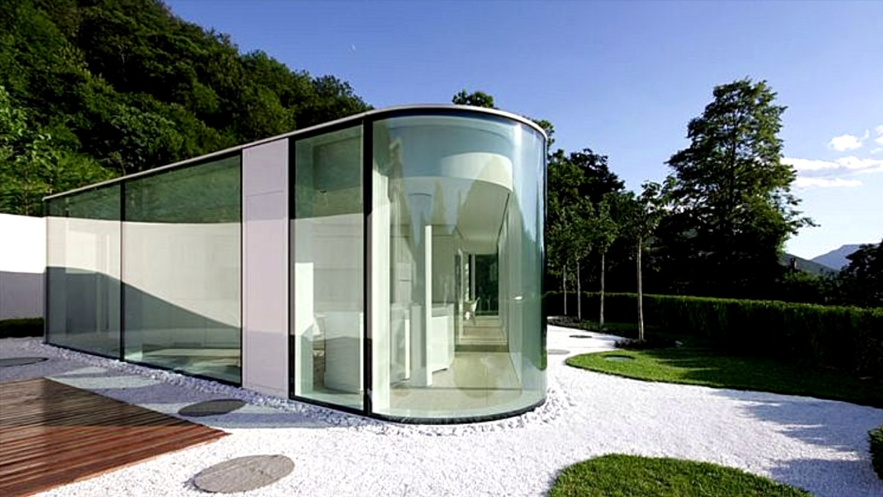 5 modern lakeside homes youtube for Lakeside home