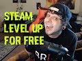 How to Level up Steam 100% FREE 2017