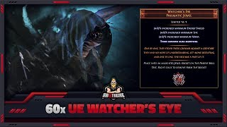 "[PATH OF EXILE] – 60x ""UE WATCHER'S EYE"" – IT'S GETTING EXPENSIVE, EXILE!"