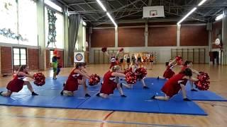 Chorégraphie Pom-Pom Girls - Lycée Saint Exupéry - Saint Dizier (52)