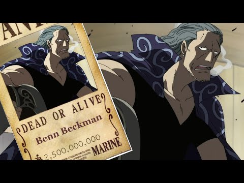 Benn Beckman-The Master of Observation Haki Bounty The Strongest ...