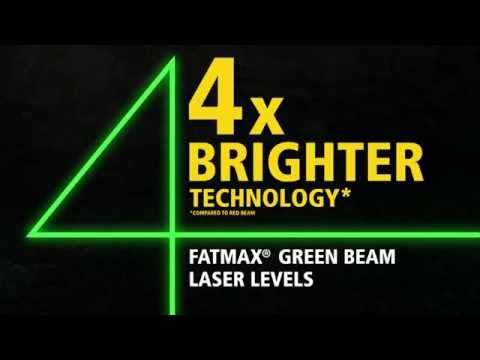 Stanley FatMax® Green Beam Cross Line Laser