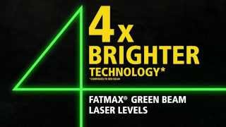 Stanley FatMax® Green Beam Cross Line Laser
