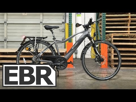 Easy Motion Nitro City Video Review - 28 mph Commuter Ebike with Throttle