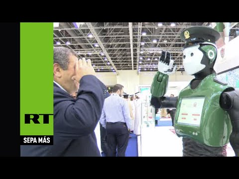 'Robocop' da la cara en Dubái