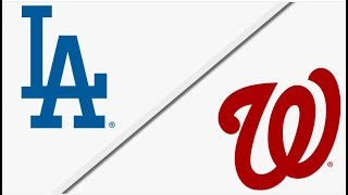 Los Angeles Dodgers vs Washington Nationals | Full Game Highlights | 5/19/18