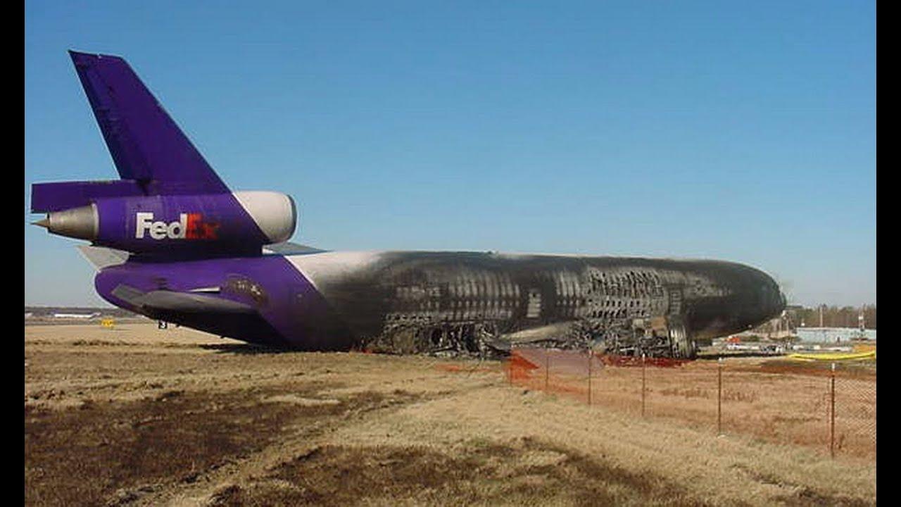 Fedex Flight 647 Boeing Md 10 10f Md 10 Aircraft N364fe Crash On