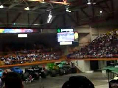 motocross at the 2008 monster truck show in rapid city. Black Bedroom Furniture Sets. Home Design Ideas