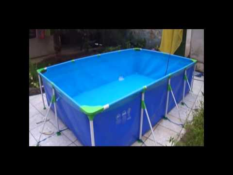 Piscina litros mor youtube for Piscina 6000 litros