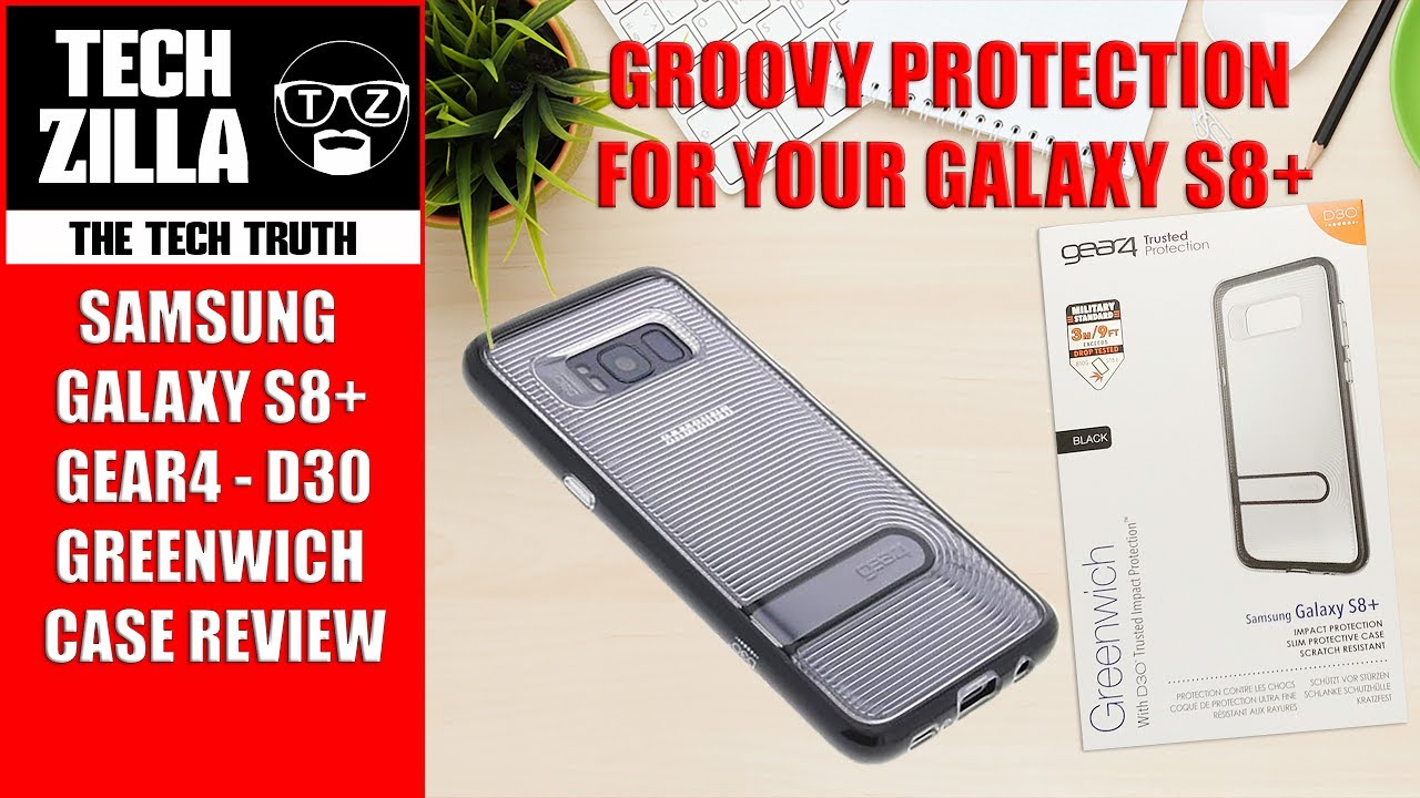 huge selection of 26aa9 f0425 Samsung Galaxy S8 Plus Gear4 Greenwich Case Review