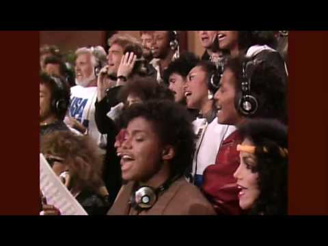Michael Jackson - WE ARE THE WORLD -  HD STEREO - USA for Africa