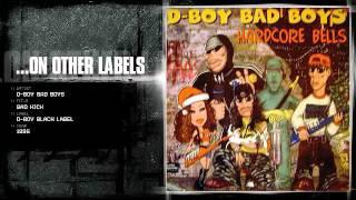 D-Boy Bad Boys - Bad kick D-Boy Black Label DB 043 - 1996.
