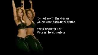 Video Beyoncé & Shakira - Beautiful Liar (Lyrics/Traduction) download MP3, 3GP, MP4, WEBM, AVI, FLV Juni 2018