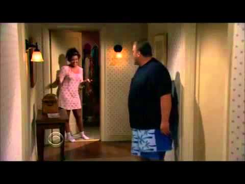Katy Mixon socks Victoria from Mike and Molly  3 scenes
