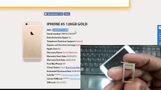 Gambar cover How To Check Iphone IMEI Number | Find My Iphone Status Free | Iphone 6S IMEI Check