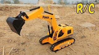 Unboxing & Testing Of My First R/C Excavator Super Power Truck | RC Adventure