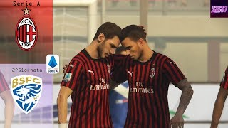 STREAMING - MILAN VS BRESCIA 2°Giornata Serie A 19/20