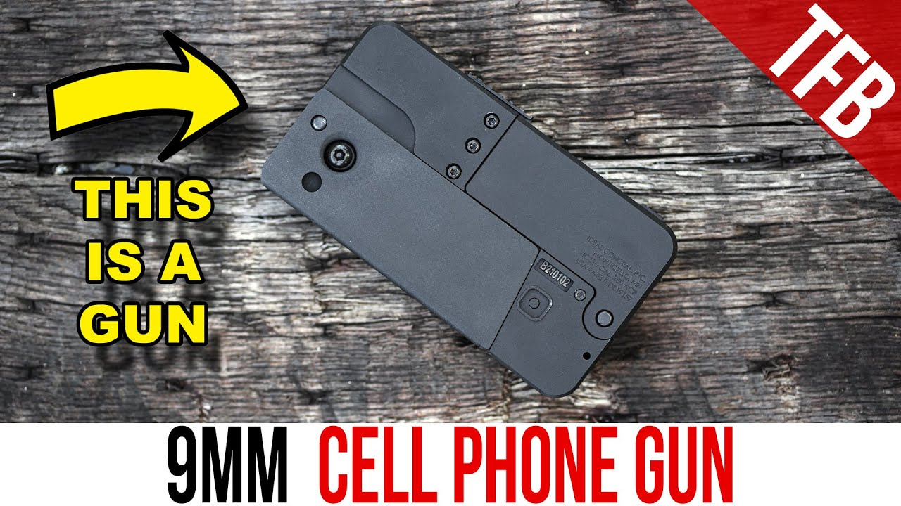 The Cell Phone Gun from Ideal Conceal: Now in 9mm