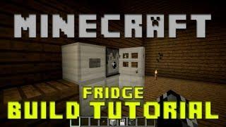 minecraft fridge build