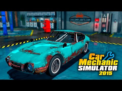 Скачать Car Mechanic Simulator 2018 v 128 2 DLC