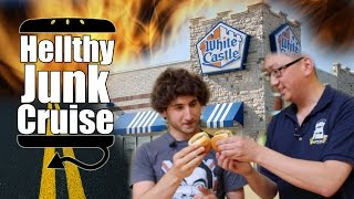 White Castle Review with Brothers Green - Hellthy Junk Cruise - Episode 4