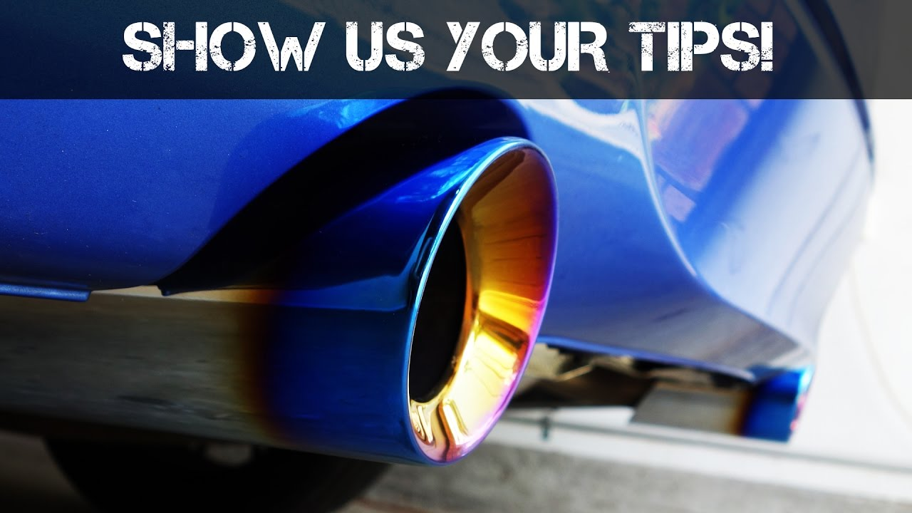 installing bms 3 5in exhaust tips for bmw