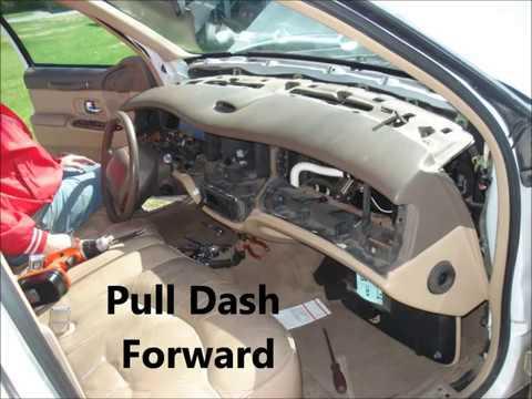 1997 Lincoln Town Car Blend Door Actuator Replacement (Read Description)  YouTube