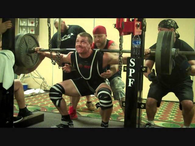 Ryan Lewis - 2015 SPF Record Breakers - Team Nebobarbell - Gatlinberg, Tenn  11/07/15