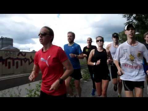 Runing Sweden Lidingö 110717