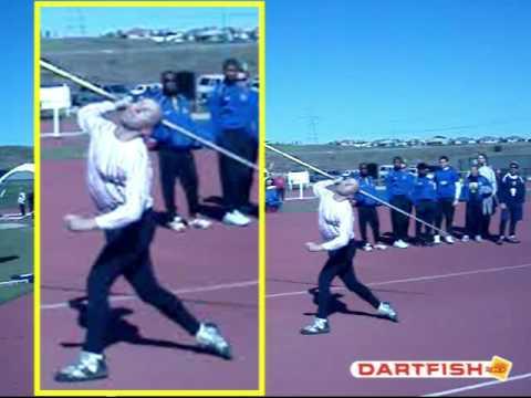 World Leading Masters Javelin Throw 2009 - Roald Bradstock 67.02m