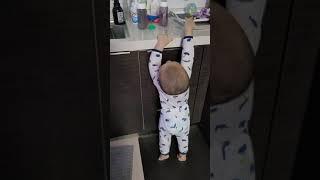 2020. 18개월아기 간식통 스스로 정리하기