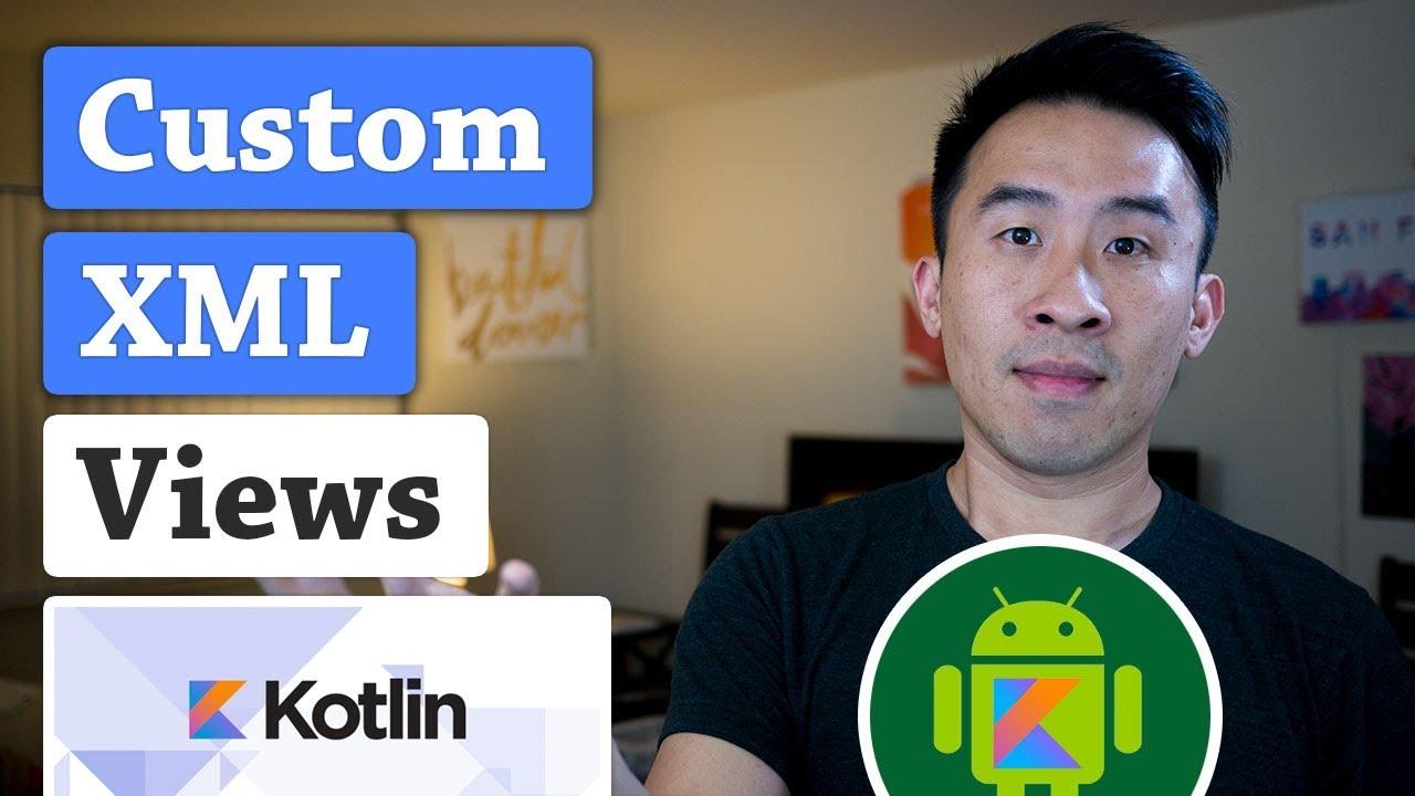 Android Kotlin: ListView Custom XML Views for Rows (Ep 2)