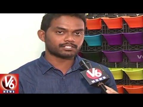 City People Shows Interest On Interior Gardening   Hyderabad   V6 News
