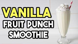 Vanilla Fruit Punch Protein Shake