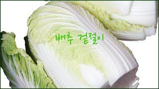 [김치]여름배추 겉절이 이걸 넣고 절이시면 맛이 배가 …