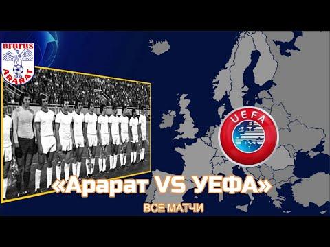 Все матчи Арарат Ереван в еврокубках и их результаты. Команда, которую боялась Бавария!