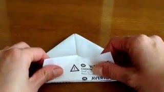 チラシや長方形の紙で作る箱。子供でも簡単に作れます^ ^ thumbnail