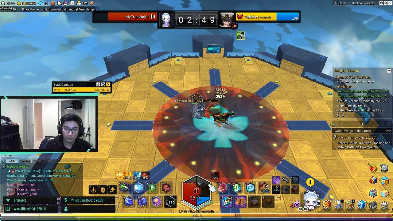 Thief Duel on Deck Veliche S+ Maplestory 2 by SHreckEDtv