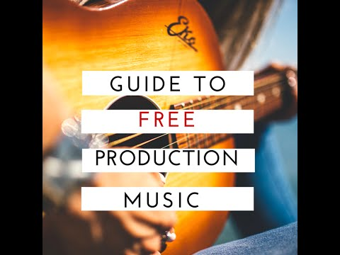 Best Sites for Free Production Music & Free Stock Music