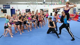 GIRLS vs. GUYS GYMNASTICS WAR!