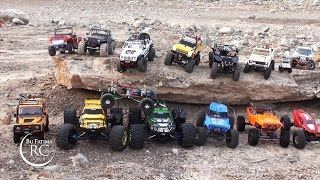 15 RC Scale Cars in TraiL Adventure, UAE Crawlers Group